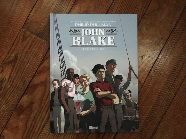 """Couverture de """"John Blake"""" deFred Fordham et Philip Pullman (Glénat)"""