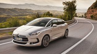 La DS5 hybride de Citroën aurait été choisie par François Hollandepour la passation de pouvoirs,le 15 mai 2012. (CITROEN)