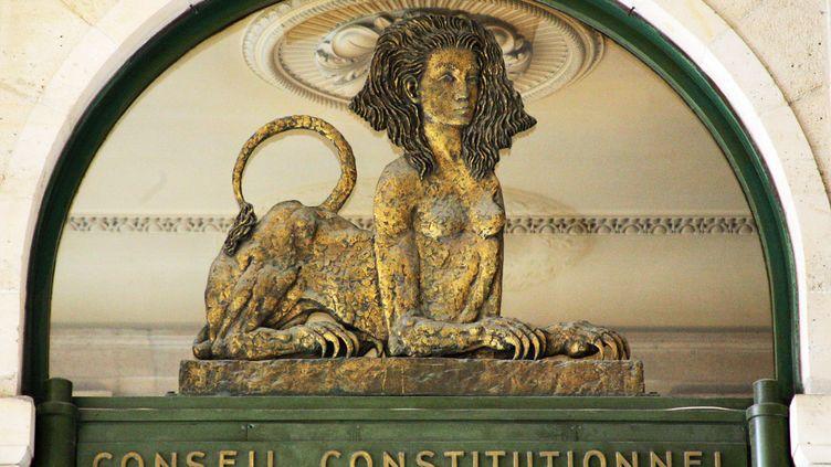 La façade du Conseil constitutionnel, à Paris. (JOEL SAGET / AFP)