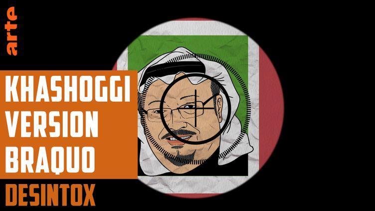 Désintox. La fausse photo de l'assassinat de Jamal Khashoggi provenait de la série Braquo ! (ARTE/LIBÉRATION/2P2L)