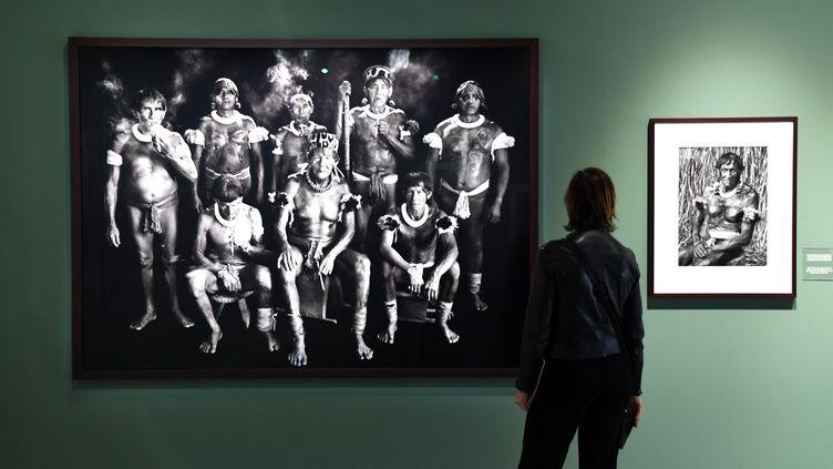 """L'exposition """"Genesis"""" de Sebastiao Saldago, à La Sucrière - Lyon (RICHARD MOUILLAUD / MAXPPP)"""