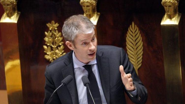 Franck Riester, député (UMP) de Seine-et-Marne (BERTRAND GUAY / AFP)
