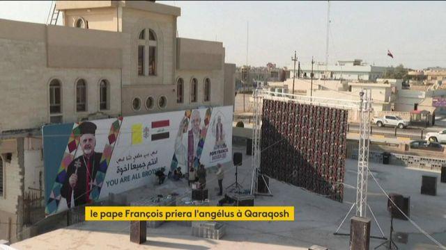 Irak : le pape François en visite à Qaraqosh, ville ravagée par l'Etat islamique