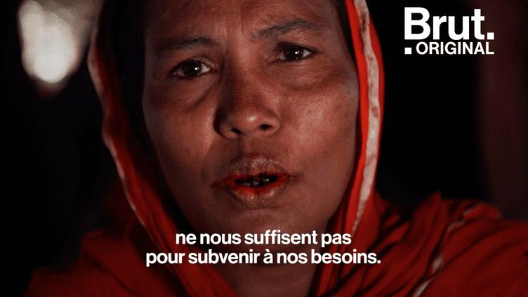"""""""C'est difficile de terminer un mois"""" : Nur, réfugié rohingya, raconte les conditions de vie difficiles dans le plus grand camp au monde (BRUT)"""