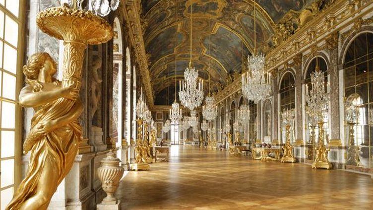 La Galerie des Glaces restaurée (27/4/2011)  (AFP / Christophe Lepetit / Only France)