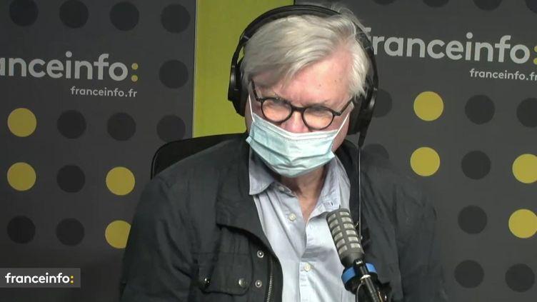 Philippe Gloaguen, directeur des Guides du Routard. (FRANCEINFO / RADIOFRANCE)