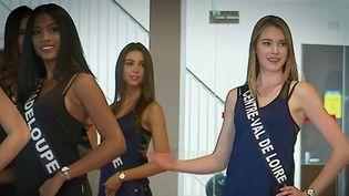 """Une association ainsi que plusieurs femmes ont porté plainte contre le comité Miss France, pour """"discrimination"""" et """"non-respect du code du travail"""". Elles reprochent au concours les critères de sélection.  (CAPTURE D'ÉCRAN FRANCE 2)"""
