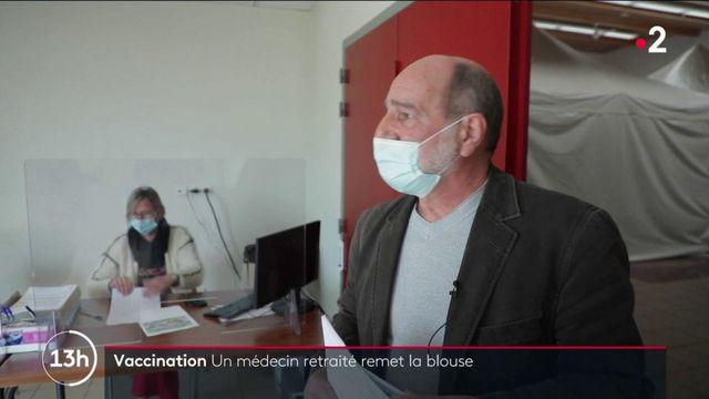 Covid-19 : un médecin retraité reprend du service pour s'occuper d'un centre de vaccination