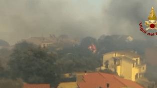 Des incendies ont provoqué la mort de deux retraités, jeudi 3 août, en Italie. (REUTERS)