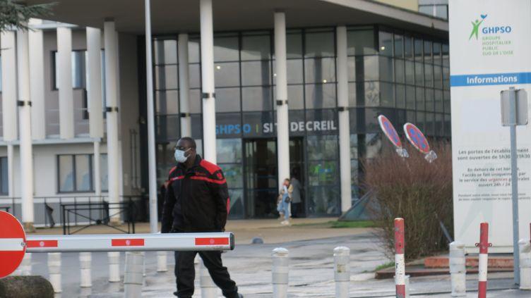 L'hôpital de Creil, le 26 février 2020 (SIMON GOURRU / PHOTOPQR / LE PARISIEN  /MAXPPP)