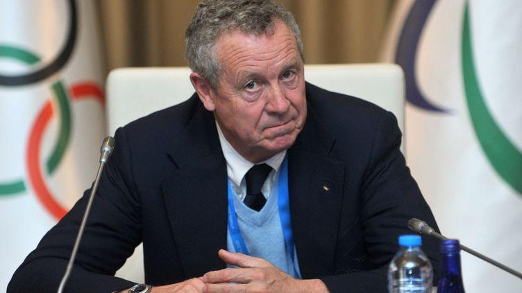 Le membre du CIO Guy Drut, à Istanbul, en mars 2013. (OZAN KOSE / AFP)