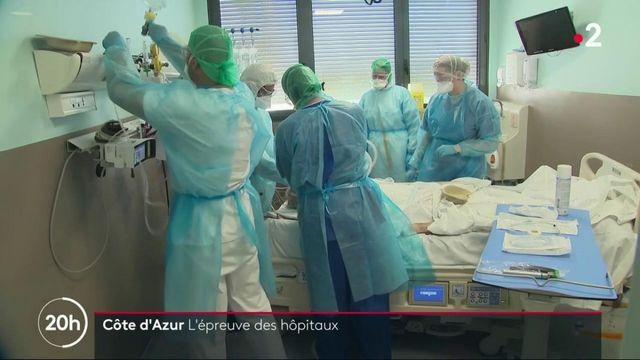 Covid-19 : l'hôpital de Fréjus est sous tension
