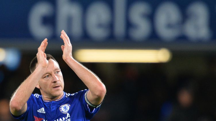 John Terry, à Stamford Bridge. (GLYN KIRK / AFP)