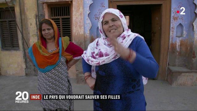 Inde : le pays qui voudrait sauver ses filles