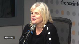 Isabelle Nanty, comédienne interprète uneavocate Gabrielle Munchovski, surnommée Munch dans la série éponyme sur TF1. (CAPTURE D'ECRAN FRANCEINFO)