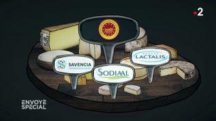 Envoyé spécial. AOP : des fromages à la chaîne (FRANCE 2 / FRANCETV INFO)
