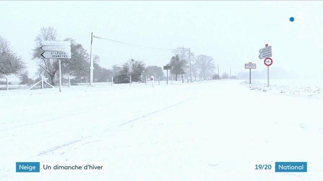 Météo : la neige s'est invitée dans plusieurs régions de France