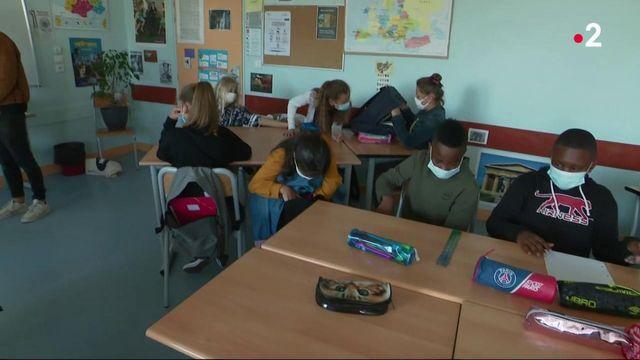 Covid-19 : un protocole très strict est mis en place dans les écoles