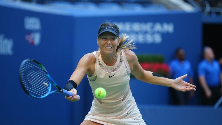 Maria Sharapova en pleine renaissance à l'US Open. (VOLKAN FURUNCU / ANADOLU AGENCY)