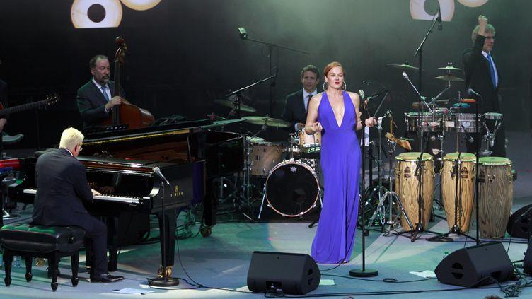Pink Martini à Jazz à Vienne le 30 juin 2016  (Jean-François Lixon)