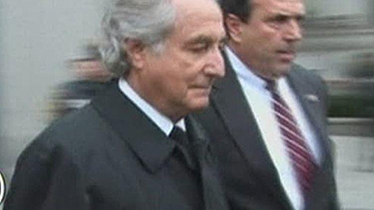 Bernard Madoff, poursuivi pour une gigantesque escroquerie portant sur 50 milliards de dollars. (© France 2)