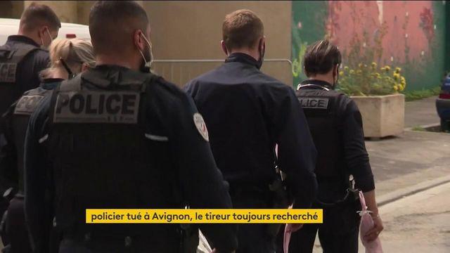 Policier tué à Avignon : les recherches toujours en cours pour retrouver le tireur