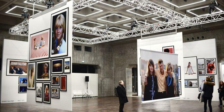 La salle centrale de l'exposition  (JULES BOUDIER/CULTUREBOX)
