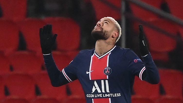 Le joueur du PSGNeymar, lors d'un match en décembre 2020. (FRANCK FIFE / AFP)