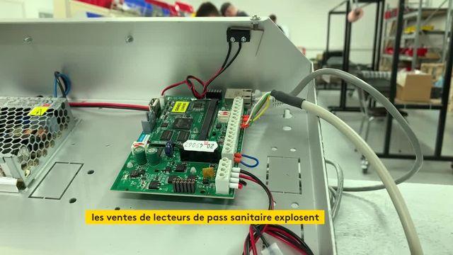 A Cahors, une entreprise commercialise des lecteurs de pass sanitaire
