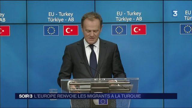 Migrants : la Turquie d'accord pour devenir terre d'accueil