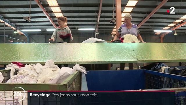 Recyclage : la seconde vie des jeans