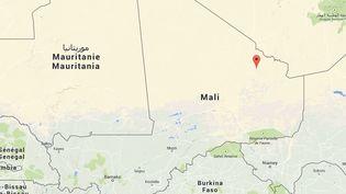 L'Adrar Tigharghar dans le nord-est du Mali. ( GOOGLE MAPS)