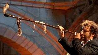 De nombreux instruments traditionnels sont utilisés pour la Misa Criolla.  (capture d'écran France 3 / Culturebox)