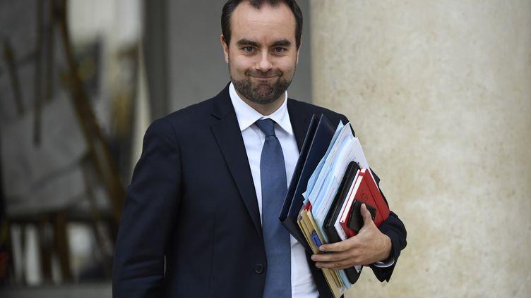 Sébastien Lecornu, ministre chargé des Collectivités Territoriales auprès de la Ministre de la Cohésion des Territoires, en octobre 2018. (Eric FEFERBERG / AFP)