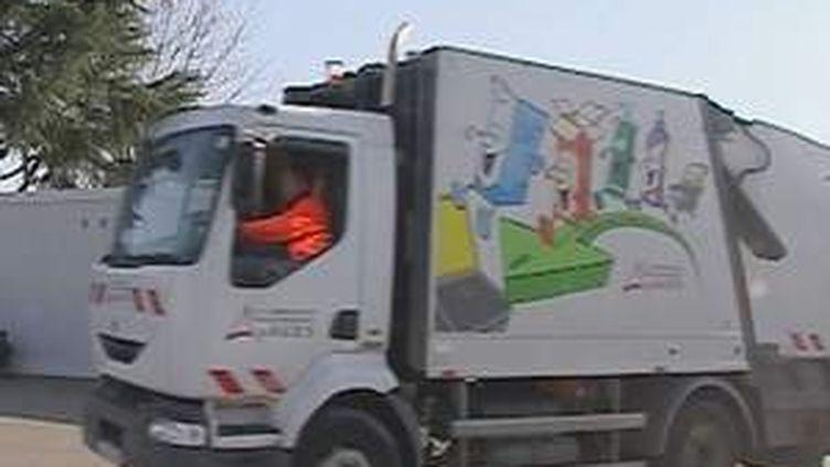 Camion-poubelle d'Agen (© France3 Aquitaine)