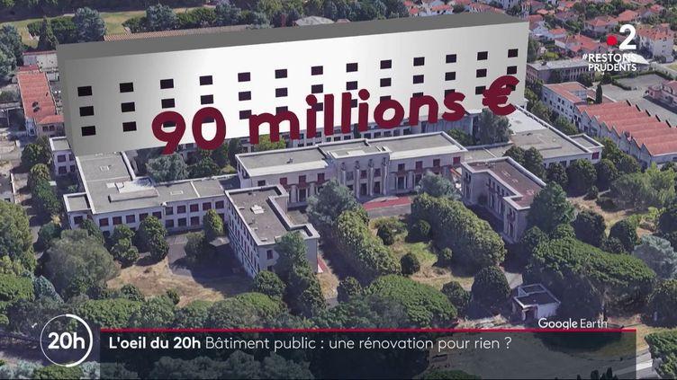Cité administrative de Toulouse: y a-t-il eu gaspillage d'argent public? (FRANCE 2)