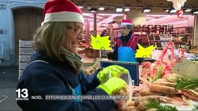 Noël : effervescence dans les commerces