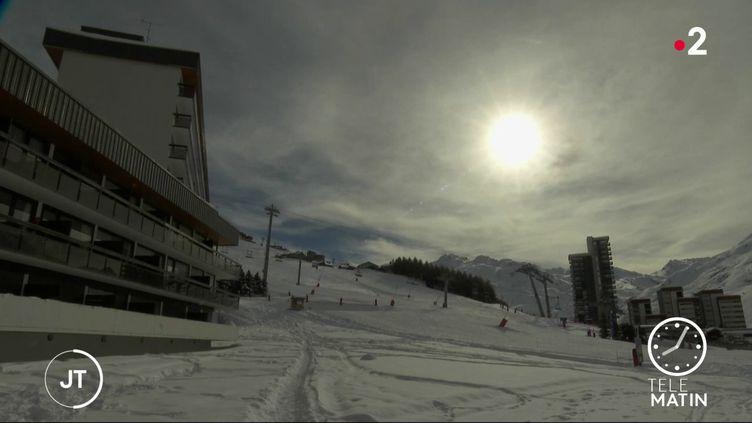 La station de ski des Ménuires, en Savoie. (France 2)