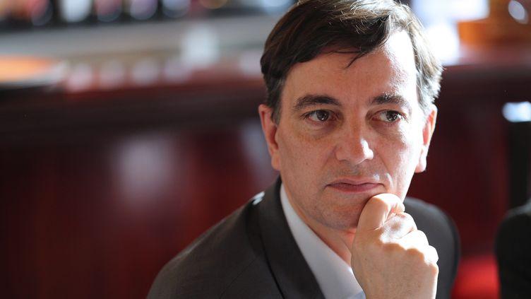 Alain Fontanel, premier adjoint au maire de la ville de Strasbourg. (JEAN-MARC LOOS / MAXPPP)