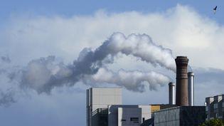 Un incinérateur en région parisienne rejette degrosses fumées blanches. (ROGER ROZENCWAJG / PHOTONONSTOP)
