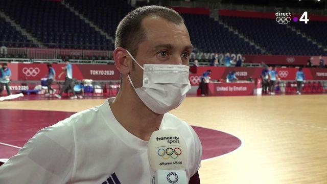 Michaël Guigou et les Bleus de Handball ont réussi à renverser une équipe égyptienne conquérante. Les Français sont en finale des JO pour la 4e fois de leur histoire et sont assurés d'obtenir une médaille.