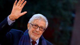 Le réalisateur italien Ettore Scola, lors de la 10e édition du Festival de Rome, en Italie, le 18 octobre 2015. (TIZIANA FABI / AFP)