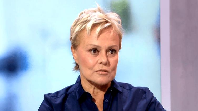 Muriel Robin sur le plateau du 13H de France 2, le 27 octobre 2014  (Culturebox)