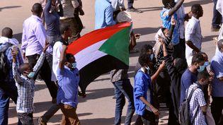 Manifestation contre le gouvernement soudanais à Khartoum, le 25 décembre 2018. (MOHAMED NURELDIN ABDALLAH / X01806)