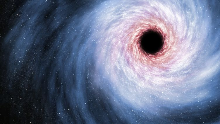 Neuf des télescopes les plus puissants au monde vont être pointés dans la même direction, du 5 au 14 avril 2017, pour tenter d'observer directement un trou noir. (MARK GARLICK  /SCIENCE PHOTO LIBRA / MGA / AFP)