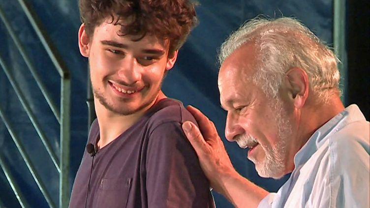 Louis et Francis Perrin jouent Molière à Gradignan (P. Lécuyer / France Télévisions)