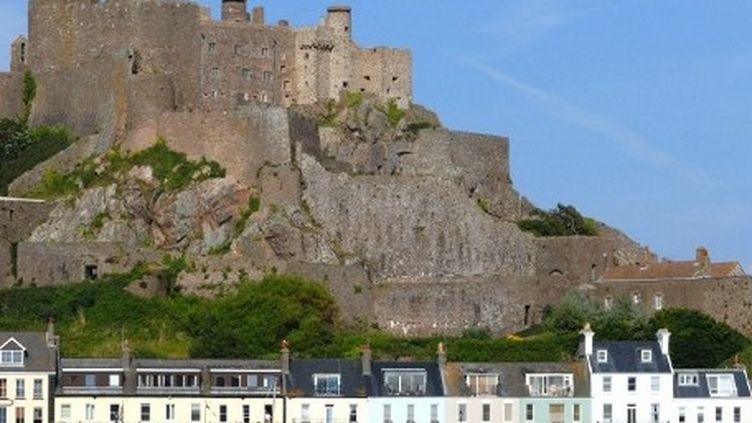 Le château de Montorgueil à Gorey sur l'île de Jersey (AFP)