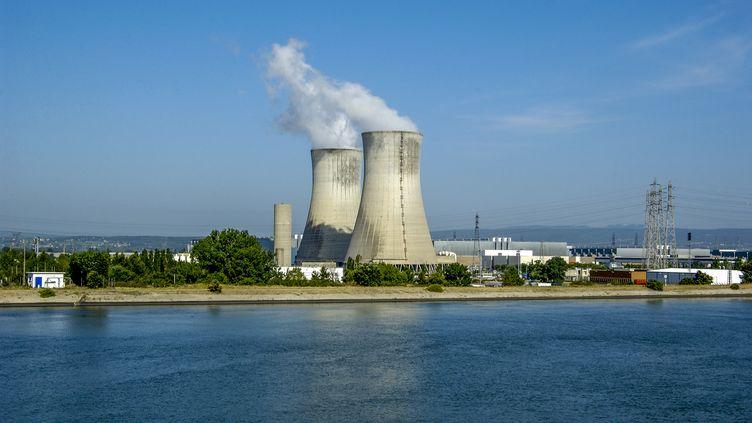 La centrale nucléaire du Tricastin (Drôme), le 24 septembre 2015. (JAUBERT / ONLY FRANCE / AFP)