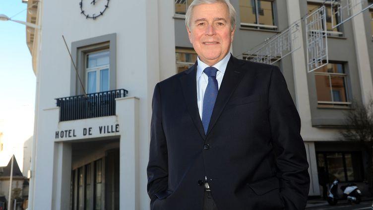 Michel Veunac, à Biarritz, le 9 décembre 2013. (GAIZKA IROZ / AFP)