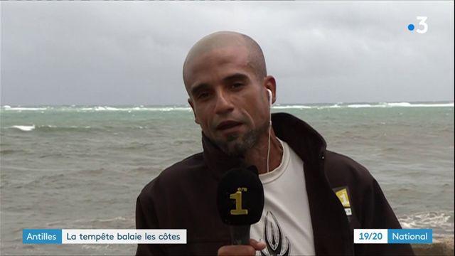 Antilles : les antillais se préparent à l'arrivée d'Isaac